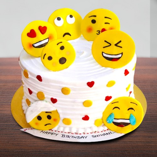 SMY018 - Smiley Cake