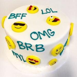 SMY020 - Smiley Cake