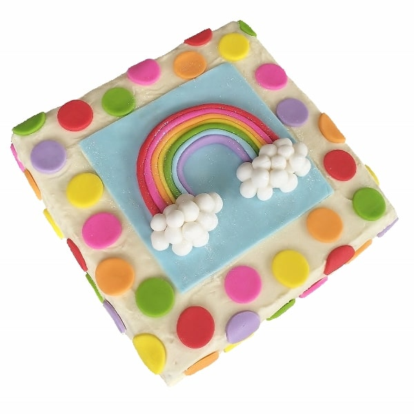 RBC009 - Sqr Rainbow Cake