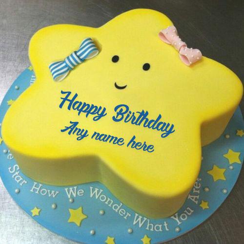 HBD021 - Star cake