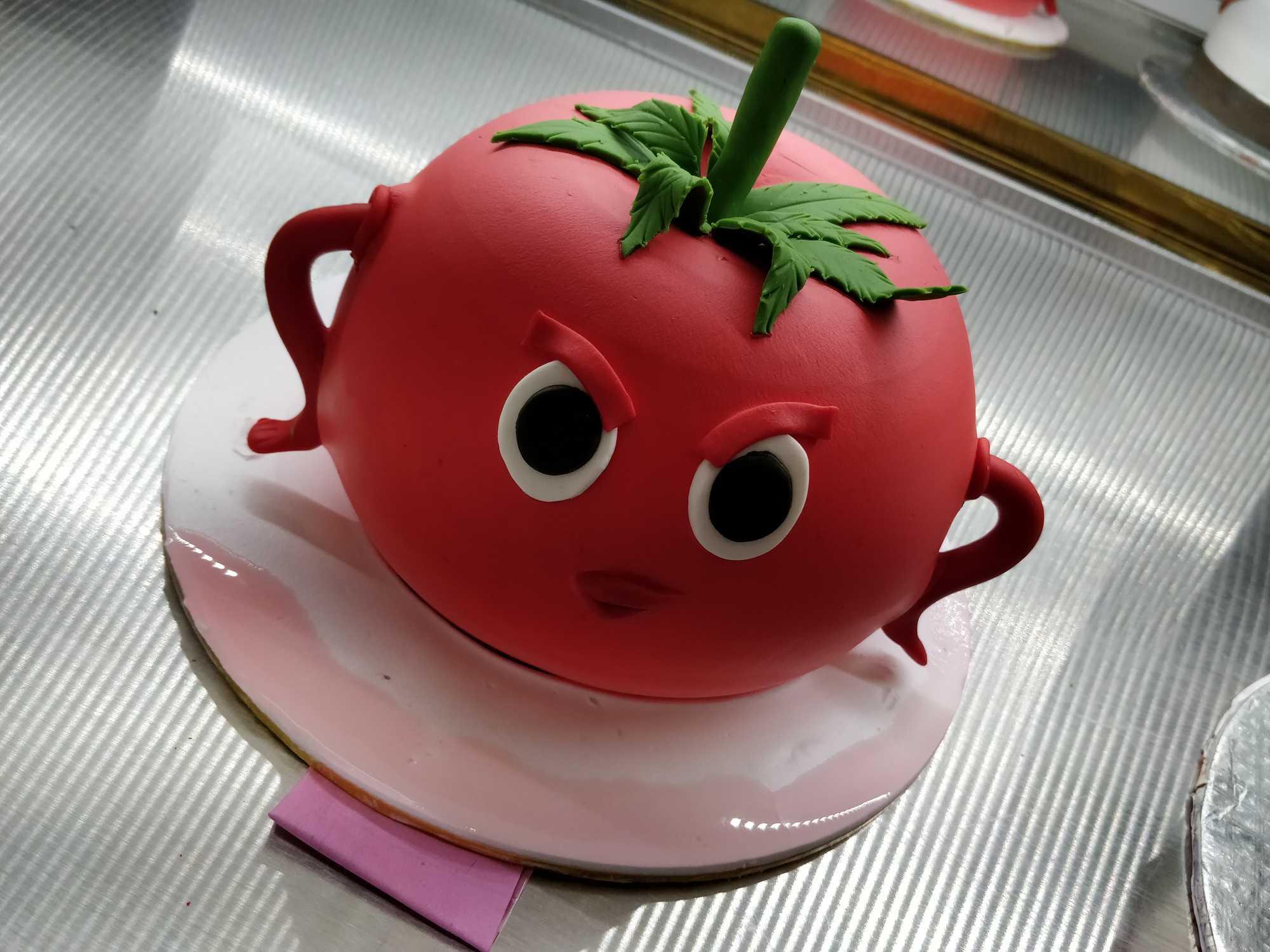 HBD027 - Tomato Cake