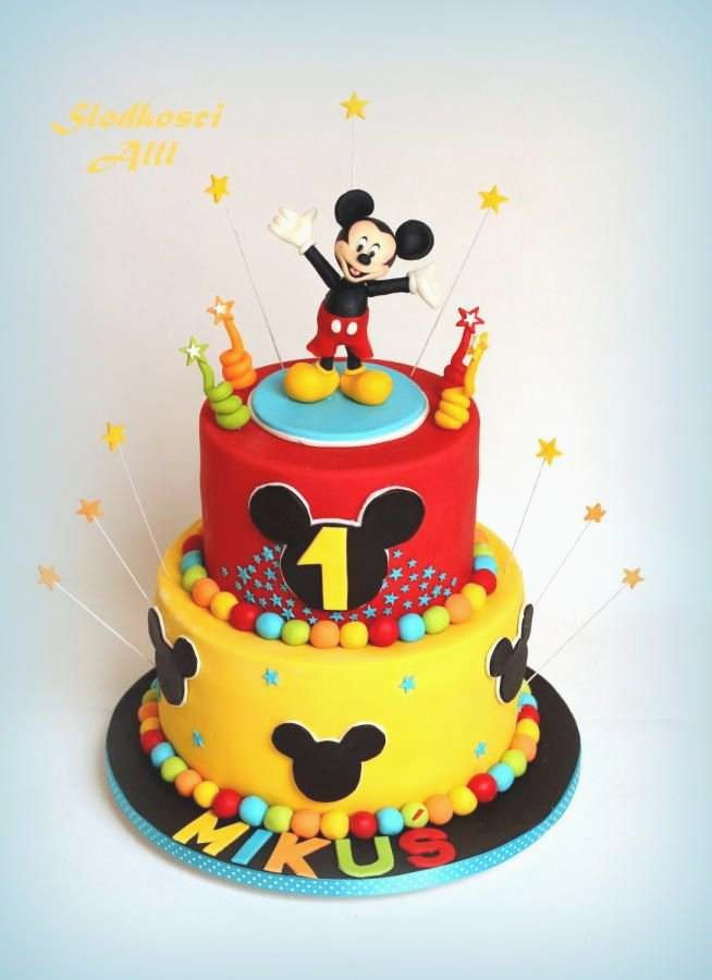 MIC015 - Micky layer cake