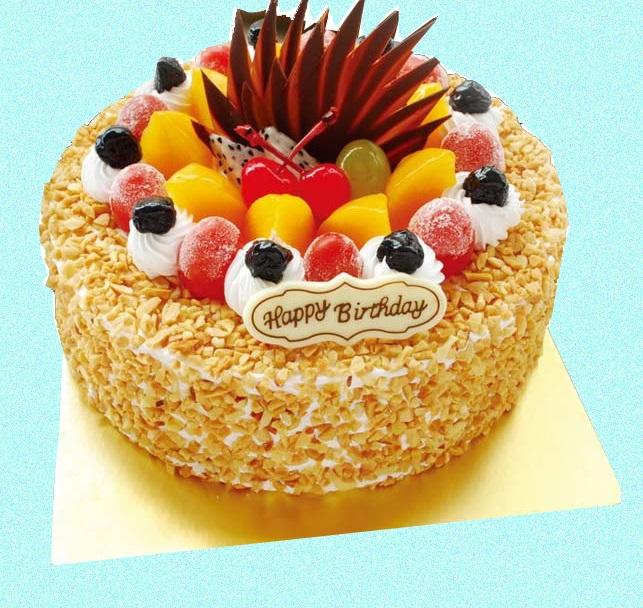 FRU006 - Fruit Cake with buttersch