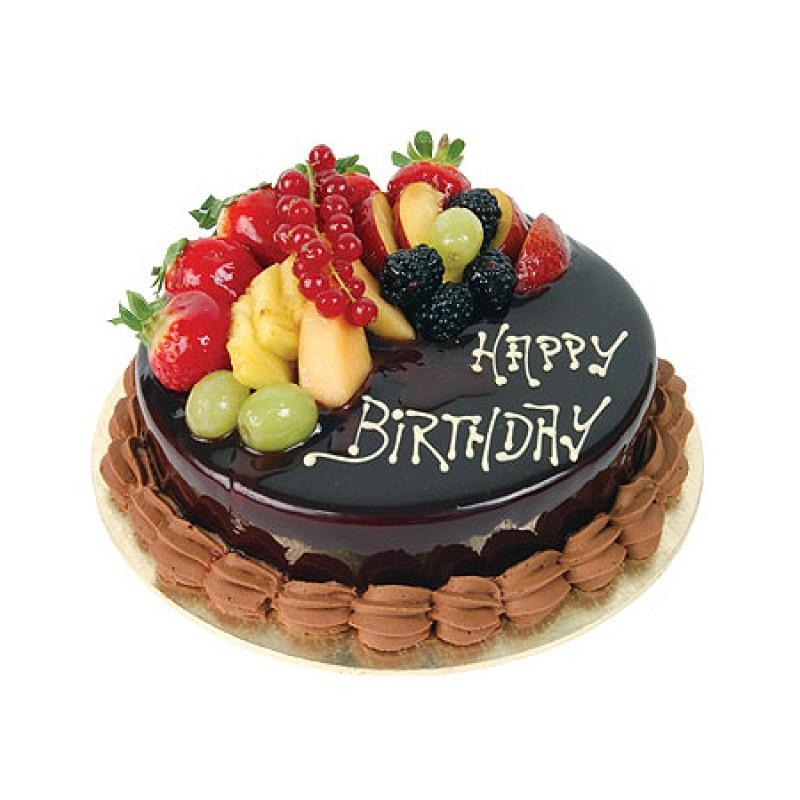 FRU009 - Chocolate fruit cake