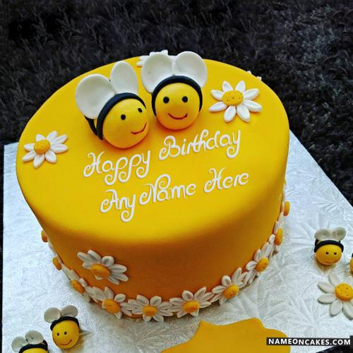 BMB001 - Bumble Bee Cake