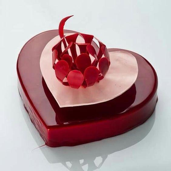 MRR006 - I See U Heart Mirror Cake