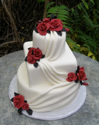 LWD039 - Rose layer Cake