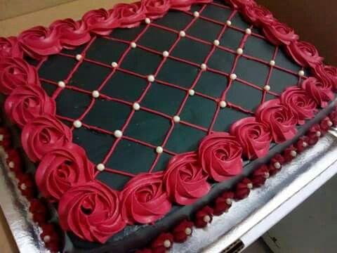 PRM022 - Square Choco Cake