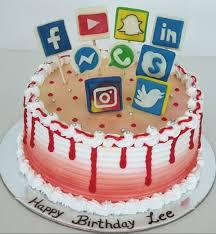 SMC005 - Social Media Cake