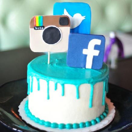 SMC007 - Social media Cake