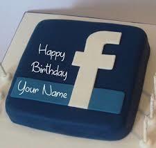 SMC013 - Facebook Cake