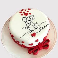 ANV017 - Anniversary Love Cake