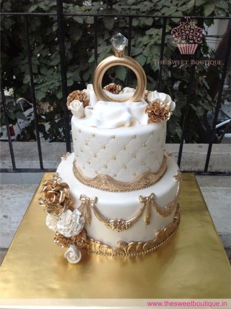 RIN001- Engagement Cake