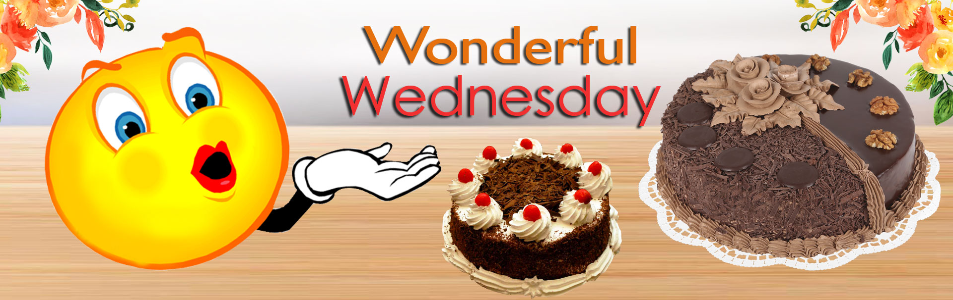 Welcome to Wednesday in cakes on hand